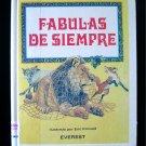 Fabulas de Siempre Eric Kincaid Spanish Fables Vintage