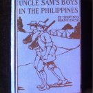 Uncle Sam's Boys in the Philippines Hancock 1912 Moors