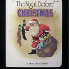The Night Before Christmas Dean Board Book Vintage 1980