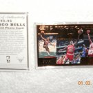 Michael Jordan Chicago Bulls 22kt Gold card from upper deck