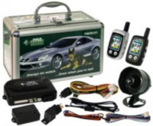 Pyle 2-Way Vehicle Security System with LCD