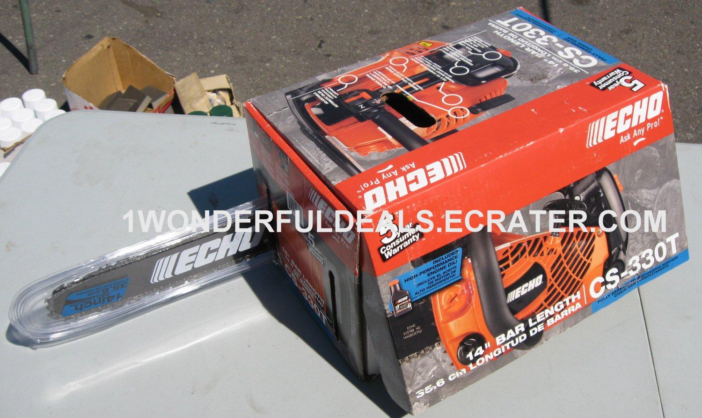 Echo ChainSaw CS-330T Top Handle 32.6cc Pro Arborist Chain saw