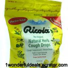 Ricola Natural Herb Cough Drops Original Soothes Throat JUMBO PACK 130 Ct/PK