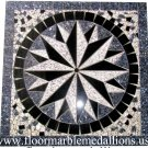 36'' x 36'' Floor Tile  Marble Medallion 8021C