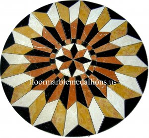 48'' Floor Tile  Marble Medallion 2022 B