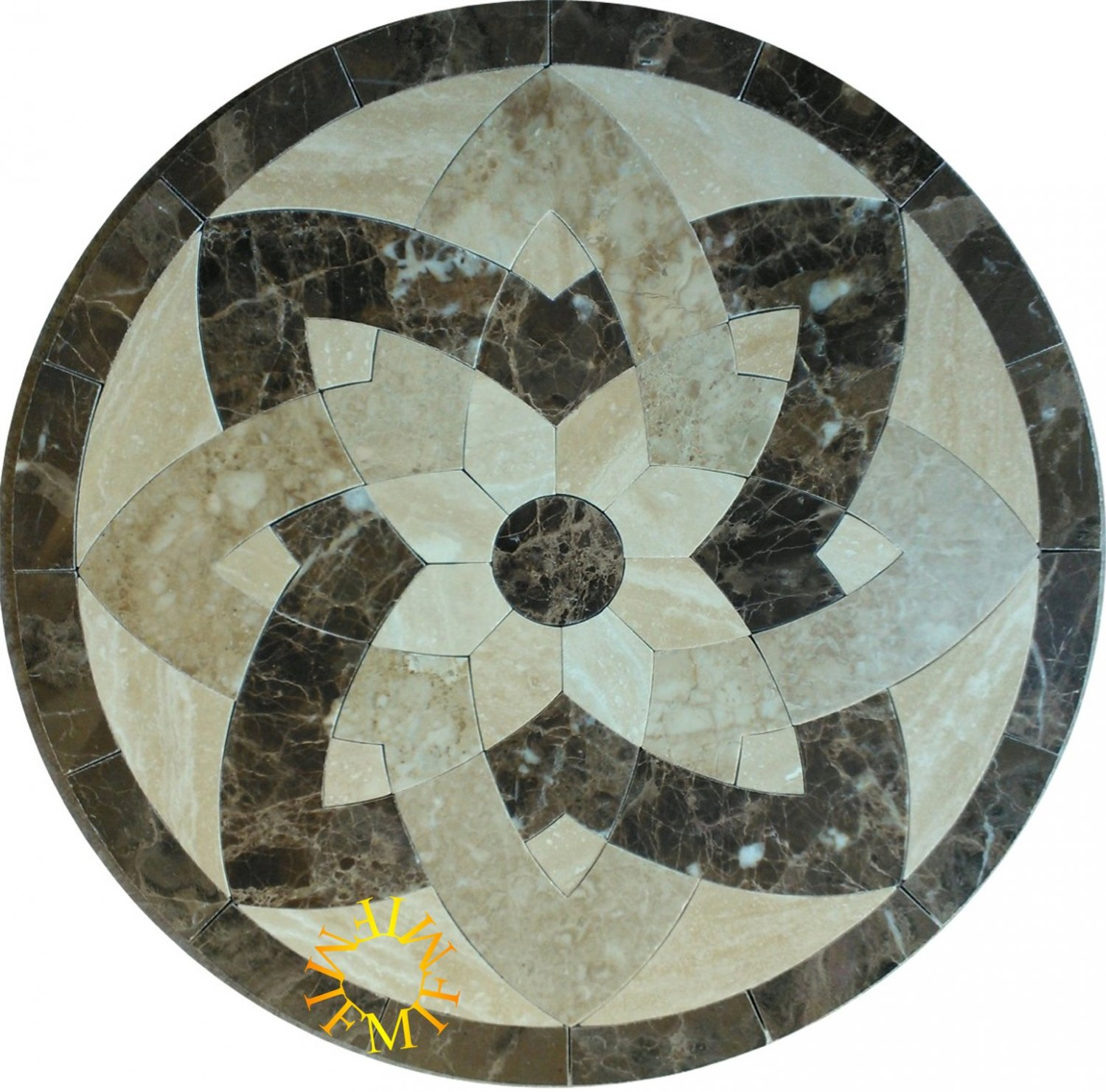 48 39 39 Floor Tile Marble Medallion 2026