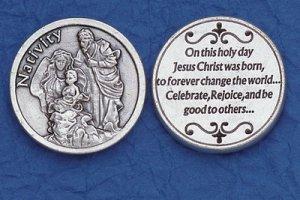 Nativity Pocket Coin M-225
