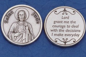 St. Jude Pocket Coin M-234
