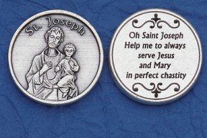 St. Joseph Pocket Coin M-233