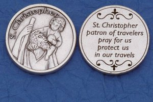 St. Christopher Pocket Coin M-232