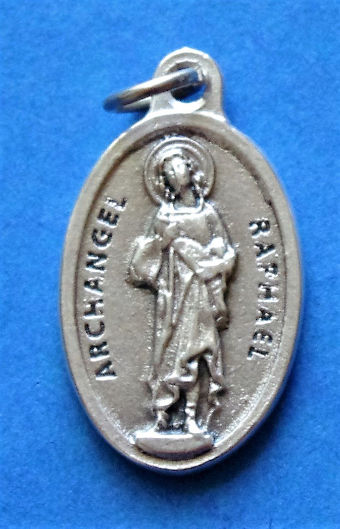 St. Raphael the Archangel Medal M-35