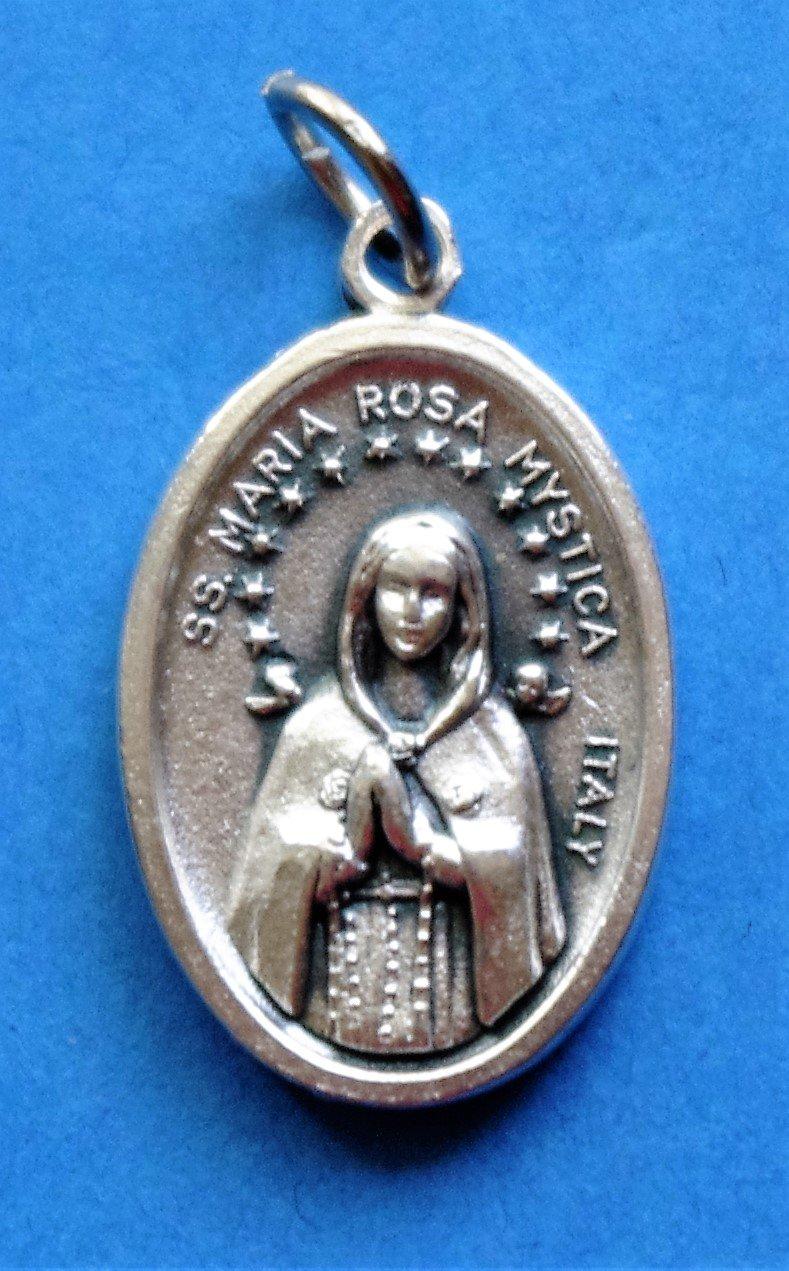 Rosa Mystica Medal M-107