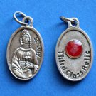 St. Lucy Third Class Relic Medal M-217