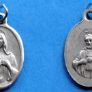 Twin Hearts of Jesus & Mary Medal M-125