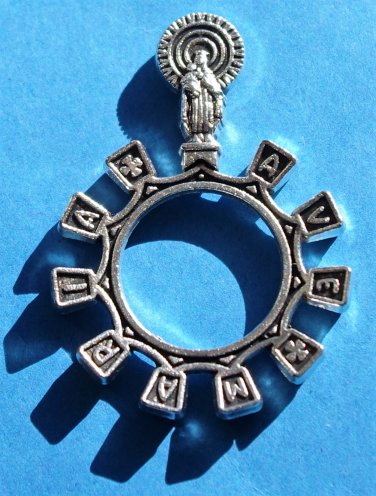 Ave Maria Rosary Ring RR-11