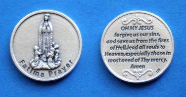 M-191 Fatima Prayer Token