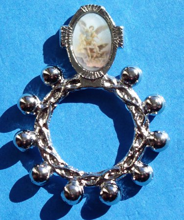 RR-3 St. Michael Rosary Ring