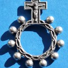 RR-14 Oxidized Rosary Ring