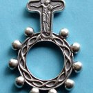RR-22 Comfort Cross Rosary Ring
