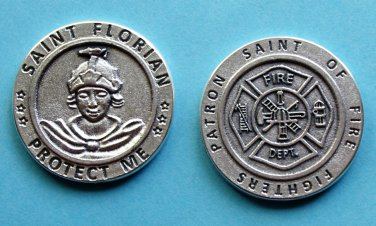 M-195 St. Florian Protect Me Coin