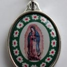 "M-199 Our Lady of Guadalupe ""Murano Style"" Medal"