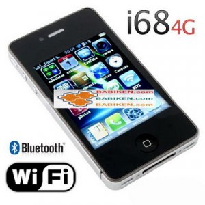 Hiphone i68 4G Bluetooth MP3 MP4 GSM Unlocked Mobile Phone