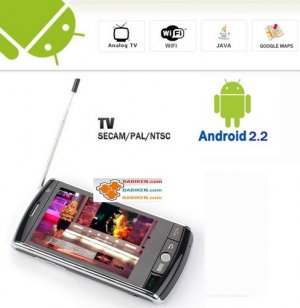 New! Android 2.2 Multi-touch WIFI GPS PDA TV Smartphone Babiken F602