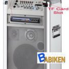 Battery Powered Portable PA System w/ DVD Player, SD USB Slot