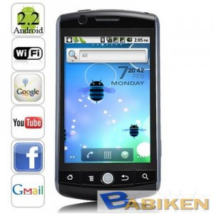 Brand New! Android 2.2 Mobile Phone support GPS+WiFi+Analog TV +dual SIM H3000