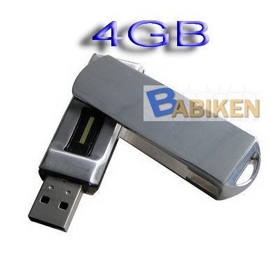 Fingerprint USB Flash Driver 4GB Security F082 From Babiken
