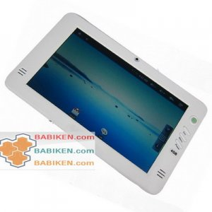 """Quality 7"""" Rockchip 2818 Android PMP EBook Tablet PC (White)-- Free shipment"""