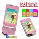 Babiken MINI 9800 Unlocked 4 SIM Quadband TV Mobile Phone-- Free shipment