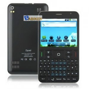 QWERTY Keyboard Android GPS Smartphone Dapeng A9000 Mobile Phone-- Free Shipment