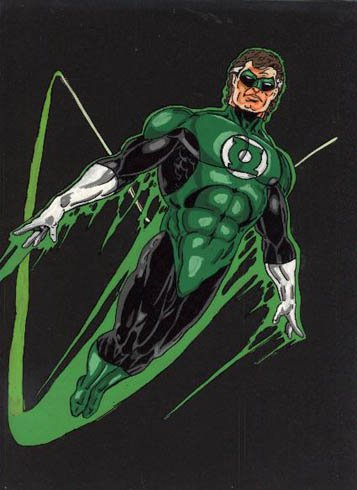 THE EMERALD WARRIOR GREEN LANTERN