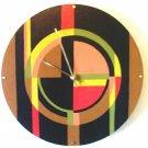 WALL CLOCK ART DECO DESIGN