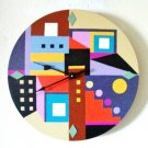 WALL CLOCK ABSTRACT - SOUTHWEST