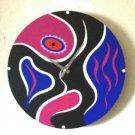 WALL CLOCK-ART DECO DESIGN-FUNCTIONAL ART