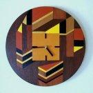 WALL CLOCK - MODERN WALL DECOR -  FUNCTIONAL ART