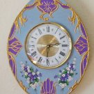 WALL CLOCK-VICTORIAN STYLE-FUNCTIONAL WALL DECOR