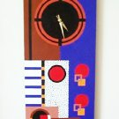 WALL CLOCK ART DECO DESIGN - FUNCTIONAL ART
