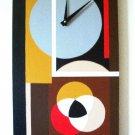 WALL CLOCK ART DECO DESIGN-FUNCTIONAL WALL DECOR