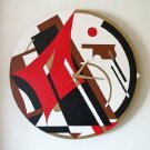 ART DECO WALL CLOCK