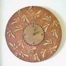 RUSTIC WALL CLOCK-FUNCTIONAL  WALL DECOR
