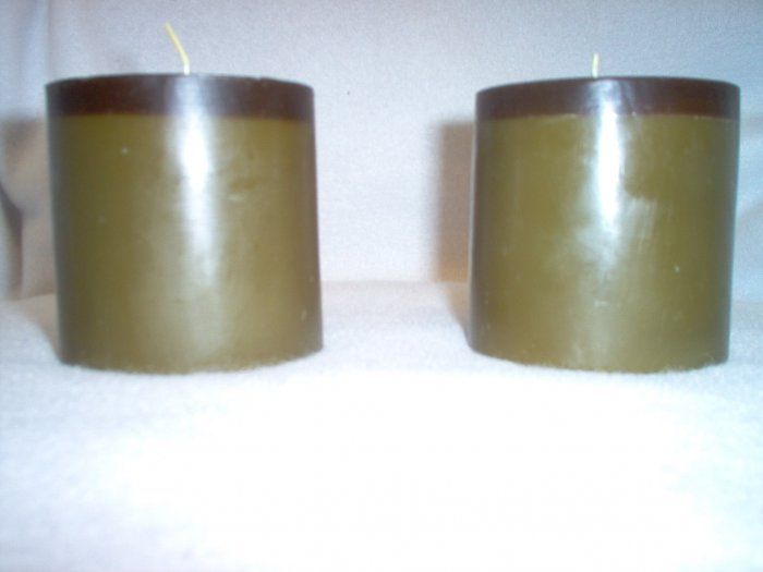 Bamboo & Teak SCented Candles (2)