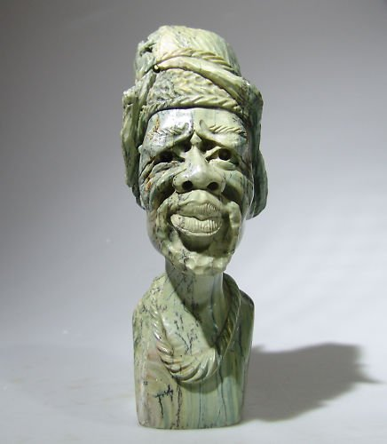 "Shona Butter Jade ""Sekuru"" Grandfather ~ by Shama Witty"