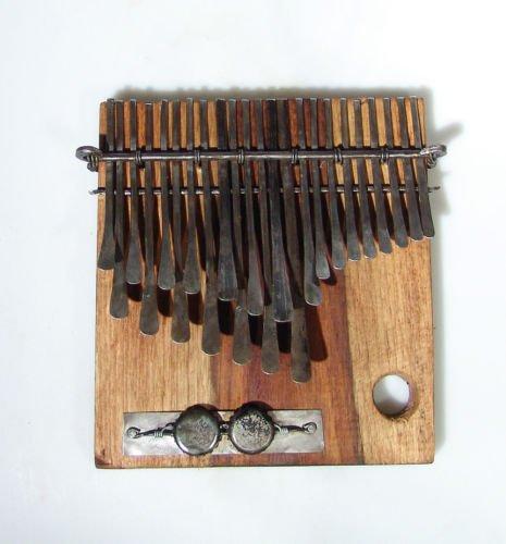 22 Key C.Vambe ELECTRIC Shona Mbira/Kalimba/Thumb Piano Handmade in Zimbabwe!