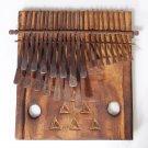 22 Key Large Rustic Shona Mbira/Kalimba/Thumb Piano Handmade in Zimbabwe!