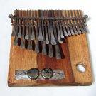 23 Key C.Vambe ELECTRIC DUAL PICKUP Shona Mbira/Kalimba/Thumb Piano ~Zimbabwe!