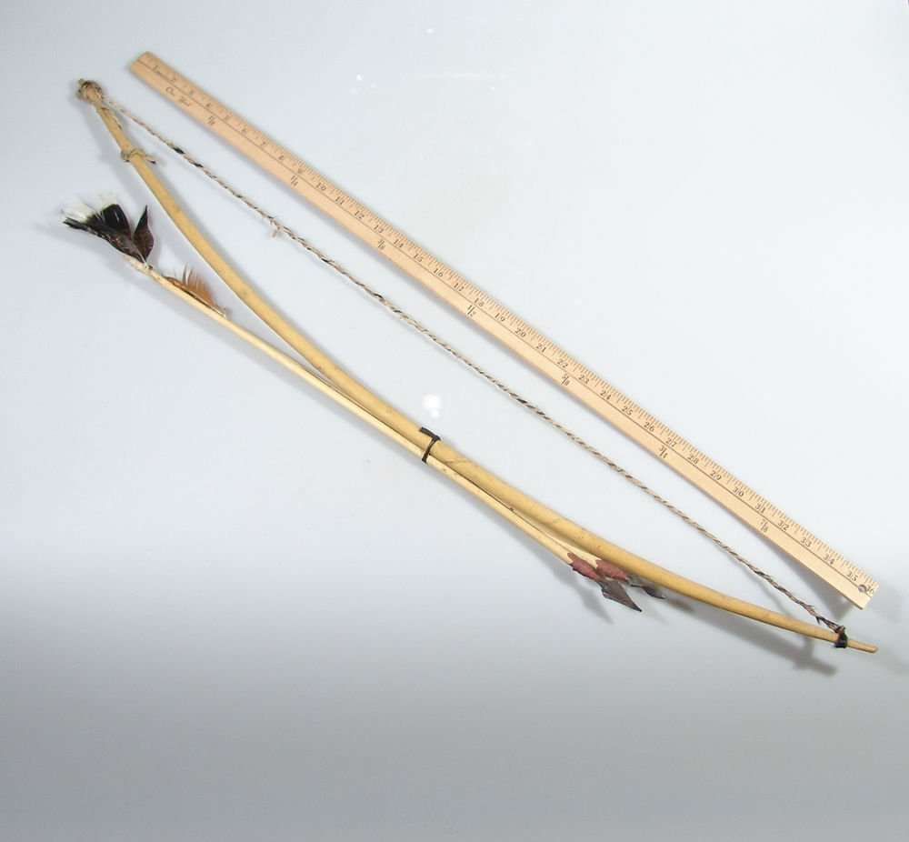 Traditional Zimbabwean Bushman's Hunting Bow and Arrow Set! - Hand made in Zim!