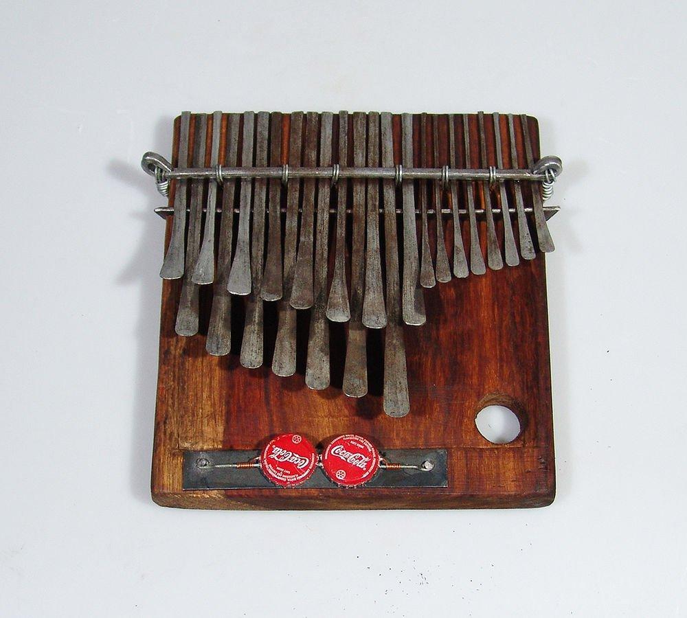 23 Key Mbira Thumb Piano Karimba Kalimba C. Vambe Handmde in Zim. SHIPS from USA